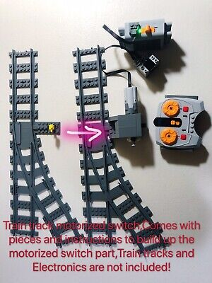 💥💥NEW LEGO Train Track Switch Part Motorized,Remote 60197/60198/71044/Power Up