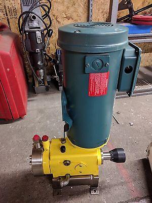 New Eva Milton Roy Stainless Steel Chemical Metering Pump