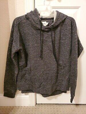 Pact Black Hoodie Sweatshirt Large Organic Cotton