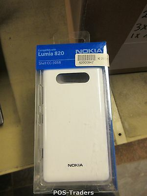 NOKIA LUMIA 820 WHITE COVER CC-3058 Mobile Phone Case