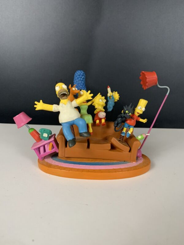 """The Simpsons """"COUCH LIFT OFF"""" Sculpture Collection"""