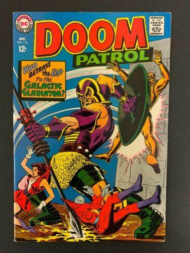 DOOM PATROL #116 *HIGH GRADE!* (DC, 1967) MADAME ROUGE!!  LOTS OF PICS!!