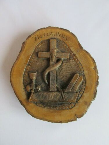 Antique%2C+hand+carved+olive+wood+Bezalel+relief+plaque+-+beautiful+patina%21