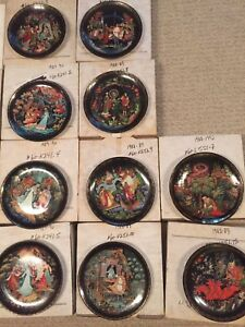 Russian Legends - the Bradford exchange  porcelain plates