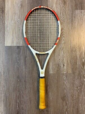 Wilson Blx six one tour 90 pro staff nintety 90 4 1//2 grip Tennis Racquet