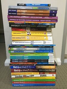 Year 7-12 Textbooks & Workbooks HSC - From $10 Pymble Ku-ring-gai Area Preview