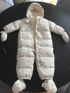 Gap one piece snow suit 18-24 months