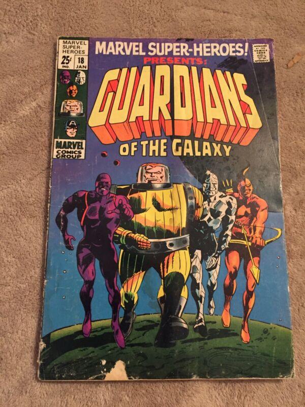 Marvel Super-Heroes #18 1st Guardians of the Galaxy [Marvel Comics, 1969]