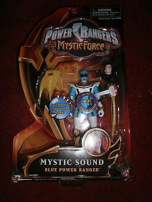 POWER RANGERS MYSTIC FORCE MYSTIC SOUND BLUE POWER RANGER  - Blue Mystic Ranger