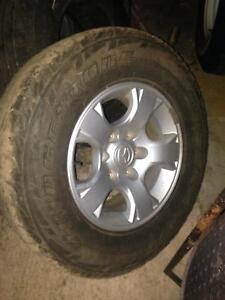 Mazda BT50 alloy rim and tyre Banjup Cockburn Area Preview
