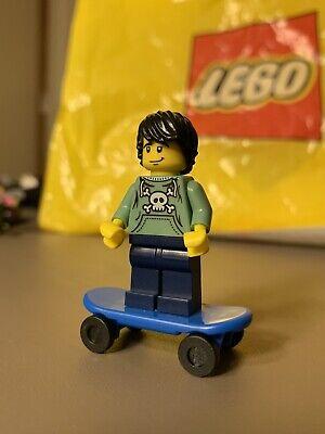 Lego Minifigure Series 1- Skateboarder- Skater  *RARE*