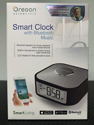 Oregon Scientific Travel Smart Clock with Sleep Sounds, Bluetooth Music... *NEW*
