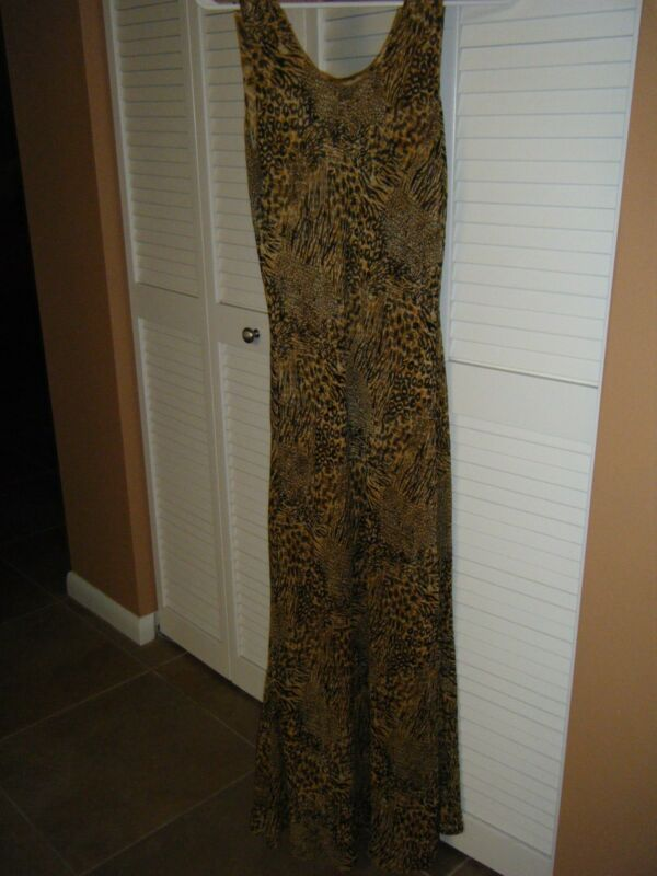 REVERSABLE DRESS ANIMAL PRINTS JUST TURN IT IN SIDE OUT FOR 2 DRESSES SUNDRESS