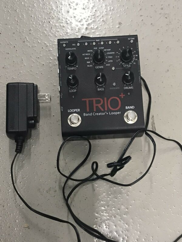 DigiTech Trio Plus Trio Looper Footswitch Band Creator