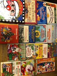 Christmas book lot