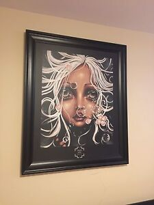 Large framed Angelina wrona picture