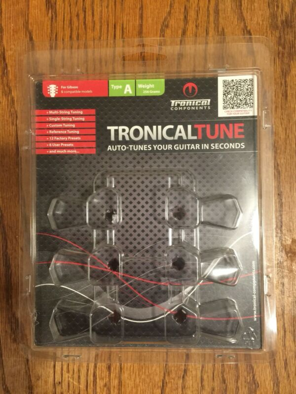 Tronical Tune Auto Tuners,Type A, For Gibson And Compatible Models, 3x3