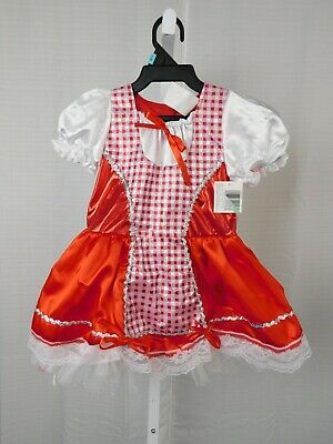 Toddler Little Red Riding Hood Halloween Costumes (Little Red Riding Hood Toddler Halloween Costume Dress - 2-4 Years)