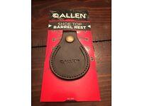 Allen Leather Shoe Top Barrel Rest For Trap /& Skeet Range shoe top protector New