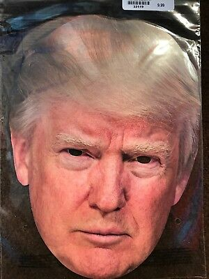 Donald Trump Mask Halloween President Candidate Poster Paper Face Mask](Presidents Mask)