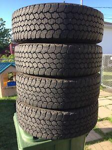 LT245/70/17 inch Goodyear Truck Tires / LOTS OF TREAD
