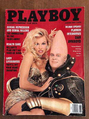 Playboy Magazine - August, 1993 featuring Pam Anderson & Conehead
