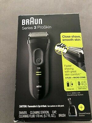 Braun Series S3 ProSkin 3050cc With Clean & Charge System