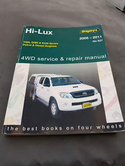 Hilux  service and repair manual Raymond Terrace Port Stephens Area Preview