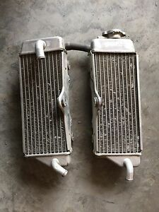 Yamaha Dirtbike radiators