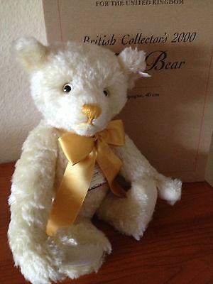 Steiff Teddybär British Collector's,40cm,Brummstimme,654763,lim.Auflage NEU/OVP