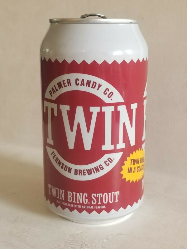RARE Twin Bing Stout Beer Can - Limited Edition/First Run Palmer Candy Fernson