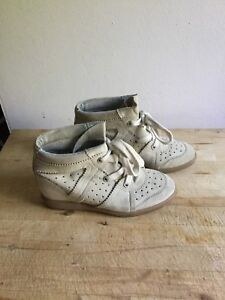 Isabel Marant sneakers wedge 39/8.5 Baskets decompensés