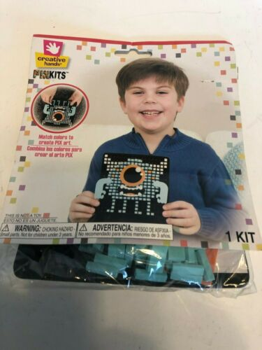 Creative Hands Pixel Art Kit - Monster