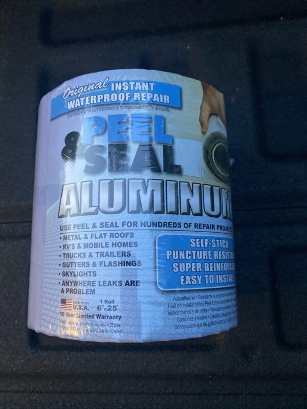 Peel & Seal 6-in x 25-ft Aluminum Flashing