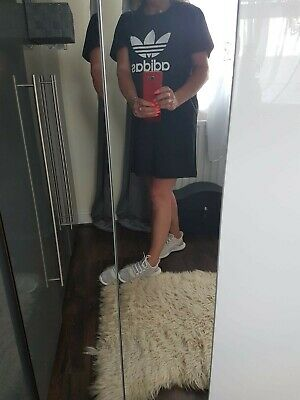 Adidas Dress Adidas Black Tshirt Dress Oversized  Size M