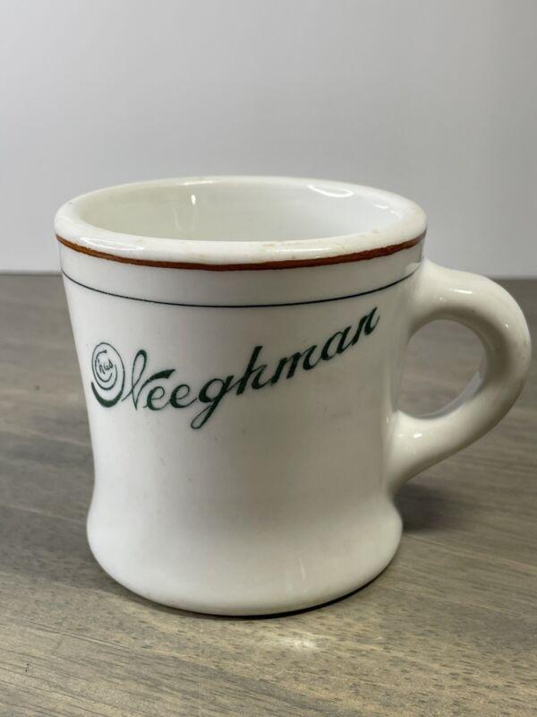 Vintage Senango CHAS WEEGHMAN Restaurant Ware Coffee Cup Mug Chicago Cubs