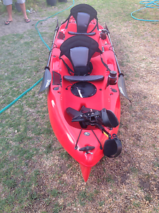Hobie Outfitter Tandem Pedal Kayak Eaton Dardanup Area Preview