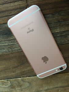 iPhone 6s 16GB Rose gold. Cellular Not Working