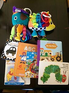 Baby toy/book lot