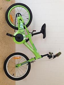 Boys bike with training wheels and handbrake Mount Cotton Redland Area Preview