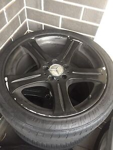 """18"""" Genuine Rims (Good tyres) Athelstone Campbelltown Area Preview"""