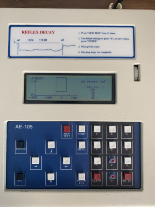 American Electronics Corporation Diagnostic tympanometer AE-105D