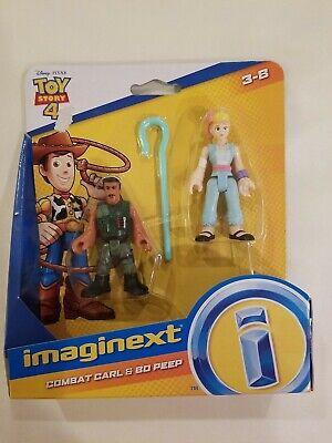 Imaginext Combat Carl Bo Peep Disney Toy Story 4 Figure Fisher Price Brand New