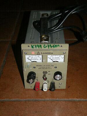 Lambda Lp-410a-fm Power Supply 0-10v 0-2a Load Tested