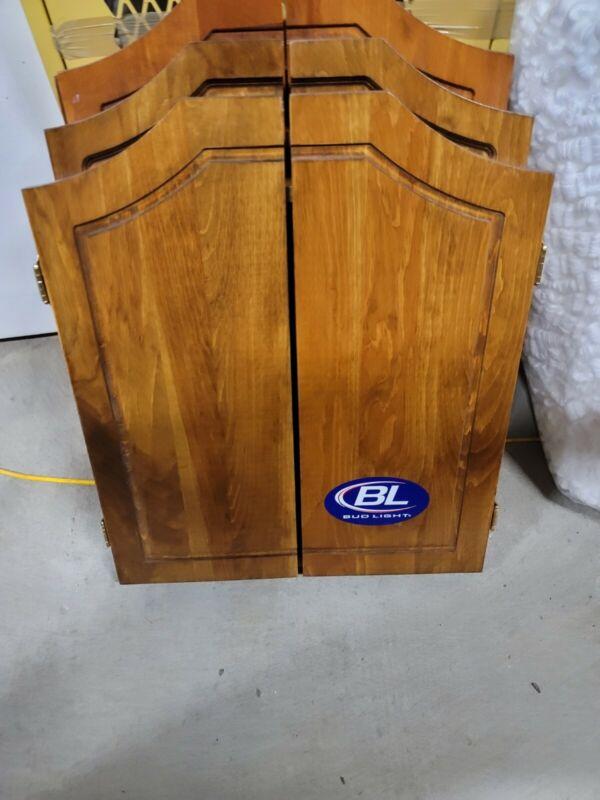 Bud Light Dart Cabinet New