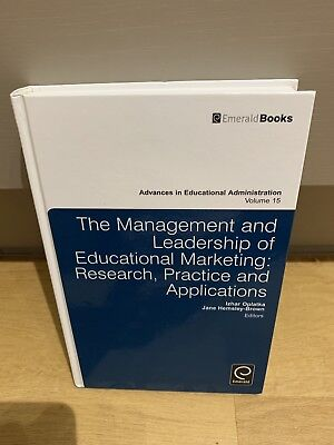 Used, The Management and Leadership Of Educational Marketing Oplatka Hemsley-Brown for sale  Shipping to Nigeria