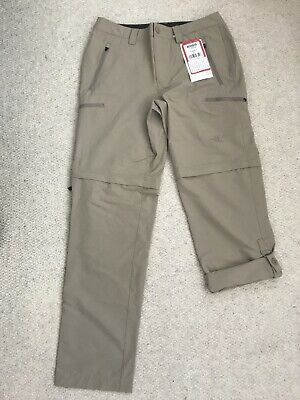 The North Face Mens Exploration Convertable Trousers 32 Reg  RRP £80