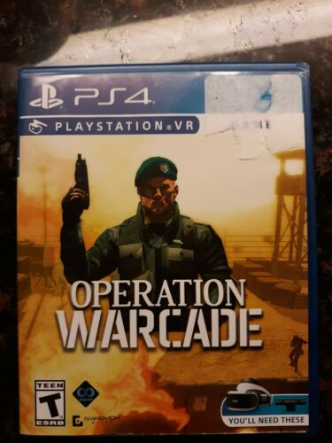 Operation Warcade PS4 (Sony Playstation 4, 2018) PSVR *Fast shipping