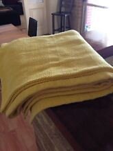 Lemon Yellow Throw (rug) Wilson Canning Area Preview