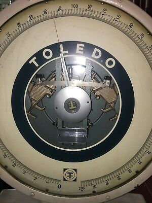 Toledo 2181 Vintage Scale 300 Kg Max Weight